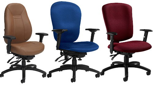 Ergonomic seating solutions to avoid repetitive strain injuries.